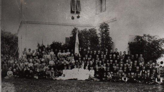 Prešernova proslava v Mozirju iz leta 1913
